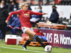 Alessia Russo, now with Manchester United, moved to the US to study and play. The Aston Villa model is designed to keep such players in England.