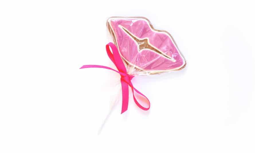 Gails Valentine Day lollipop