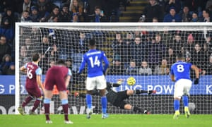 Mark Noble of West Ham United scores his sides first goal.