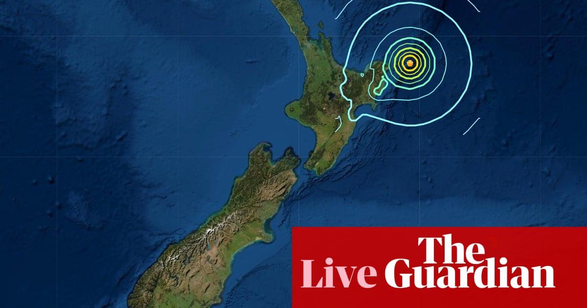New Zealand tsunami warning: evacuations follow swarm of earthquakes – live