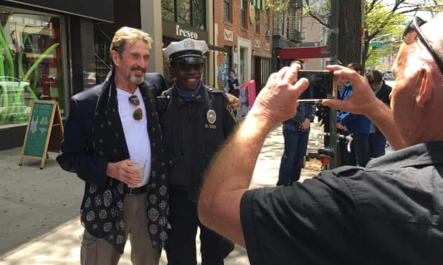 John McAfee in New York