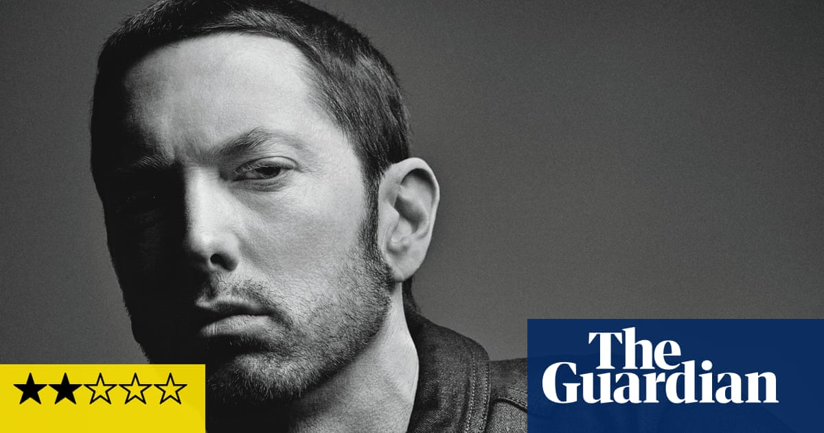 new products 569f7 345cd Eminem  Revival review – puns and witless beats in a total rejection of  hip-hop