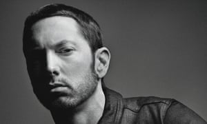'Overworking every last rhyme into a pun-fest that eats itself' ... Eminem.