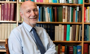 Peter Fonagy, one of the most acclaimed child psychologists of his generation.