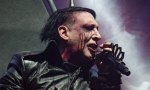 Marilyn Manson performing in November 2017.