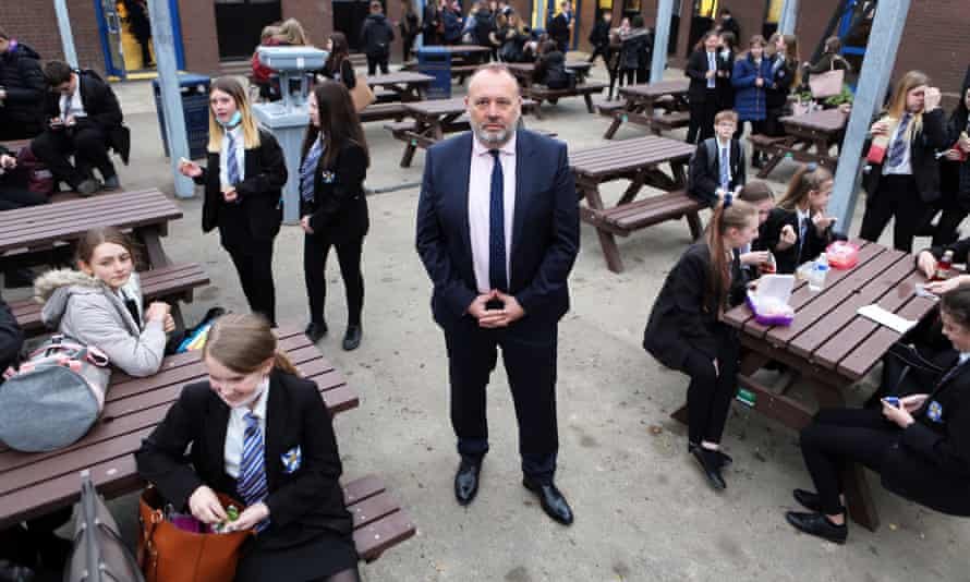 Headteacher Pepe Di'Lasio said the measures will give staff and students a sense of security.