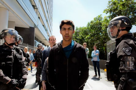 Hunter Page-Lochard as Koen West in series two of Cleverman, which contributed to a record spend on film and TV in Australia.
