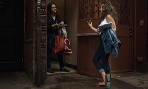 Kaytlin Bailey canvasses for Salazar in Brooklyn on 19 August.