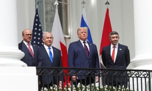 U.S. President Trump hosts leaders for Abraham Accords signing ceremony at the White House.