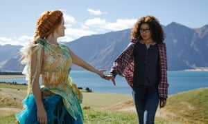 Reese Witherspoon and Storm Reid in A Wrinkle in Time.