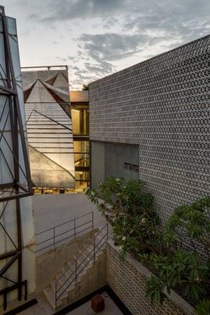 La Tallera art gallery in Cuernavaca, Mexico, designed by Frida Escobedo.
