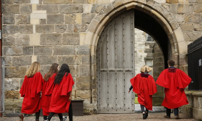 A bold path to success: how St Andrews broke the Oxbridge