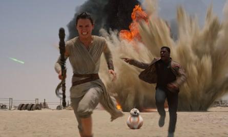 Passing grade ... Star Wars: The Force Awakens.