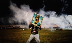A shot by Moises Saman taken in Libya in 2011, on show in History Through a Lens.
