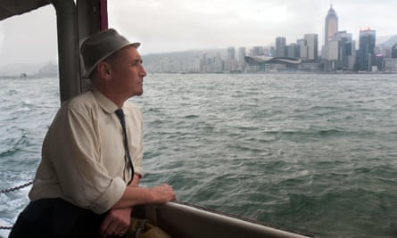 Actor Mark Rylance in Hong Kong for the documentary about his grandfather.