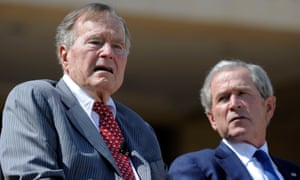 The Bushes said in their statement: 'America must always reject racial bigotry, antisemitism and hatred in all its forms.'