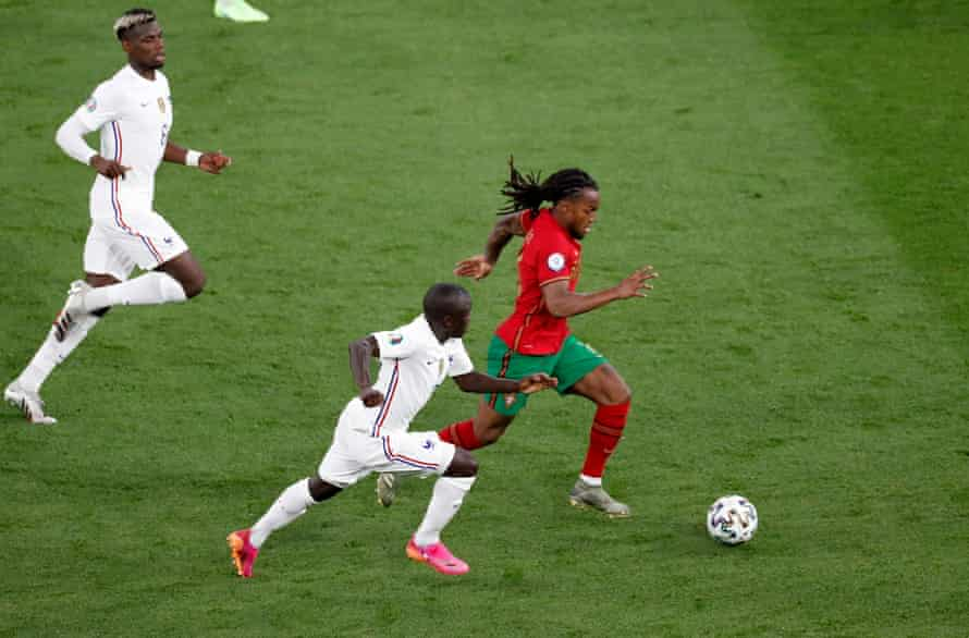 Renato Sanches taking it to France.