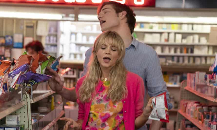 Carey Mulligan and Bo Burnham in Promising Young Woman, which features a brilliant use of Paris Hilton's song Love Is Blind.