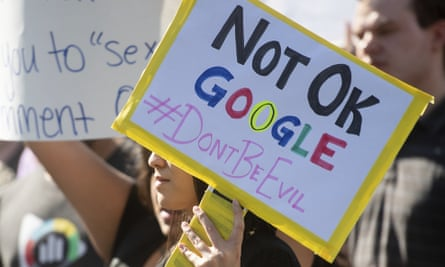 Google workers have walked out over the company's handling of sexual misconduct claims and its treatment of temporary workers.