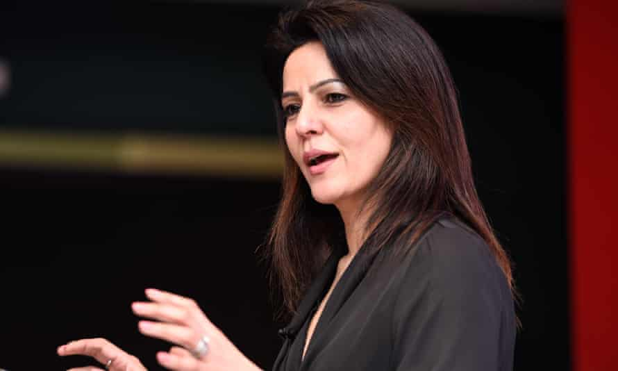 avita Oberoi speaks during the Business Made Simple event, supported by Vodafone, at Royal Armouries Museum, Leeds.
