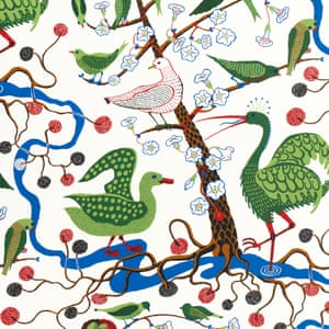 Josef Frank, Gröna Fåglar (Green Birds) 1943Frank was a modernist who countered the idea of a house being a fixed masterpiece – he instead acknowledged that people would want to adapt and recombine elements of their homes. 'The house is not a work of art, simply a place where one lives,' he once wrote