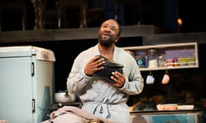 As Luke in The Amen Corner by James Baldwin at the Olivier in 2013, directed by Rufus Norris
