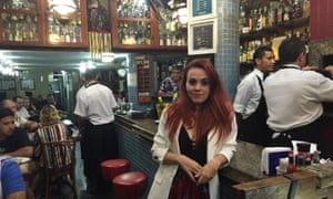 Alice Guedes at Galeto Sat's.