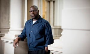 Steve McQueen, at Tate Britain, where his show Year 3 opens next week.