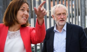 Kezia Dugdale during campaigning for the recent general election