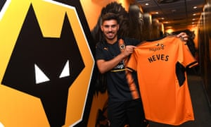 Rúben Neves is unveiled at Wolverhampton Wanderers after his move from Porto.