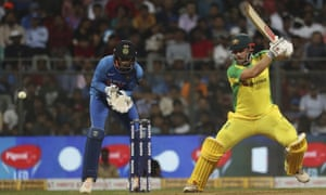 Aaron Finch struck 110 from 114 balls, with two sixes and 13 fours.