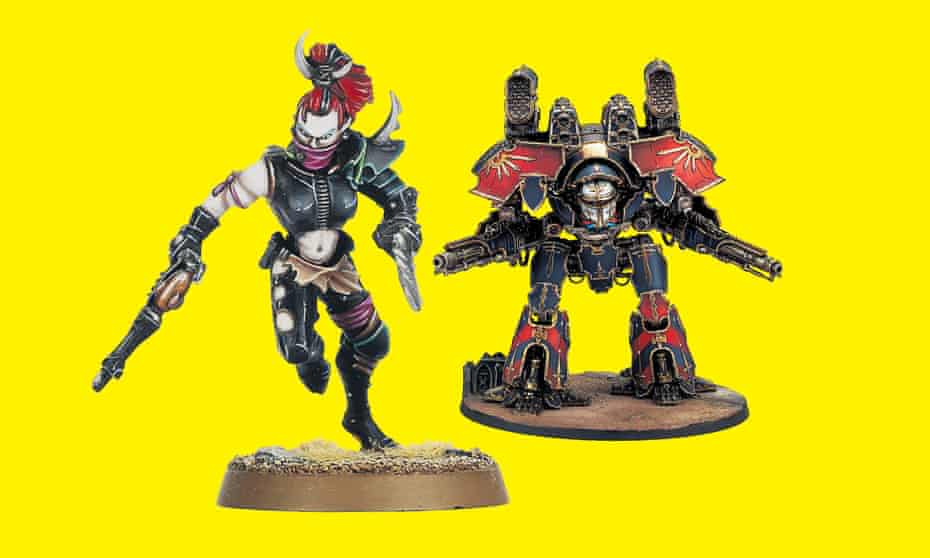'What Games Workshop argues is that more is more …' Collectibles from the Warhammer universe.