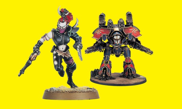 Heroin for middle-class nerds': how Warhammer conquered