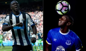 Moussa Sissoko, left, could be bought with the £25m raised from the sale of Yannick Bolasie.