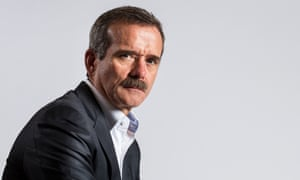 Astronaut Chris Hadfield.