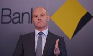 Commonwealth Bank chief executive Ian Narev.