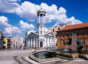 Alden Square, Historic Site, Curitiba, Brazil