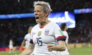 Megan Rapinoe has been central to USA's campaign, on and off the field