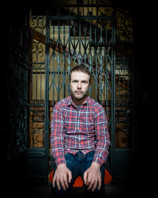 Andrew Michael Hurley Author Author of the book 'The Loney' London Photograph by David Levene 10/5/16