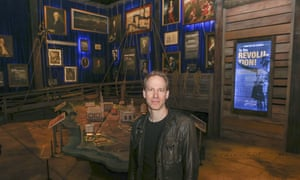 David Korins, the exhibition's creative director who also designed the sets for the musical said: 'This is the single greatest effort for me in my career.'