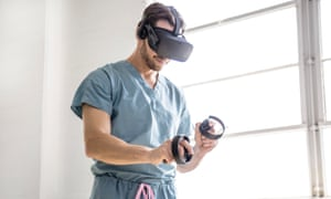 Justin Barad is a surgeon who has founded a medical education VR company.