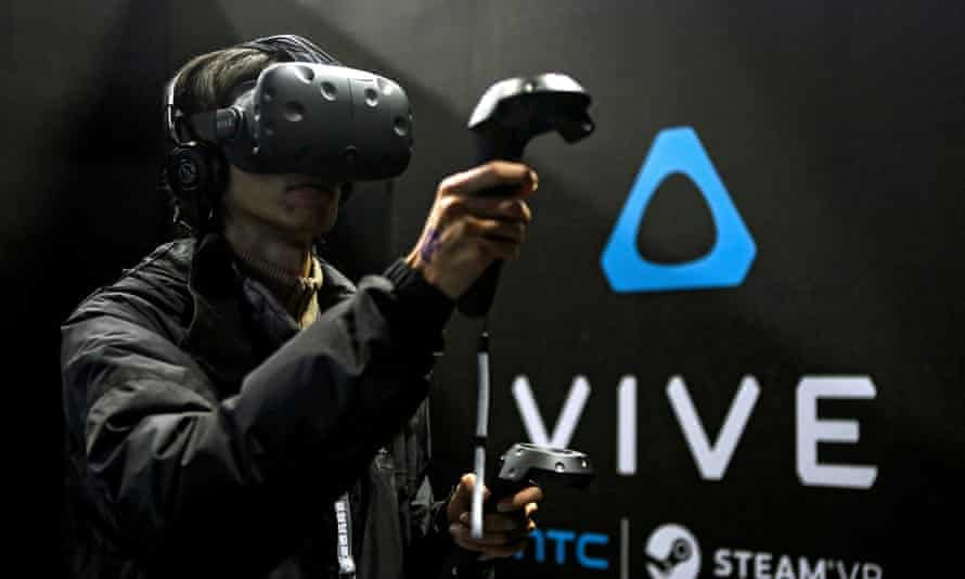 Valve's work in virtual reality was aided by the development of the Steam Controller, which influenced the two control devices used with the HTC Vive