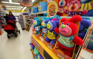 """Sing-a-ma-jig dolls at a Toys """"R"""" Us Inc. store in London, U.K."""