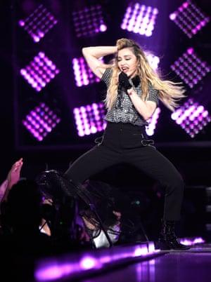 Pop queen, Madonna.