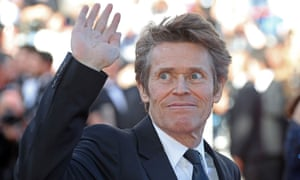 'It's got such a fighter spirit to it, but it's funky' … Willem Dafoe in Cannes.