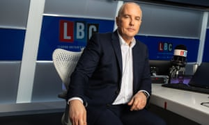 Eddie Mair of LBC which has transmitted nationally since 2014.