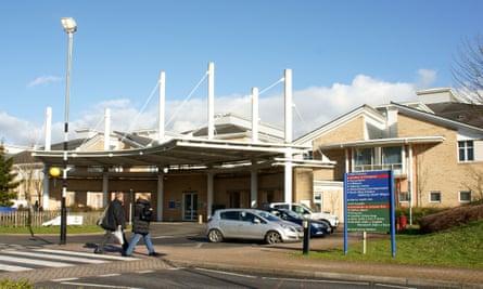 Royal Glamorgan hospital in Llantrisant