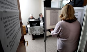 Uk election polling station