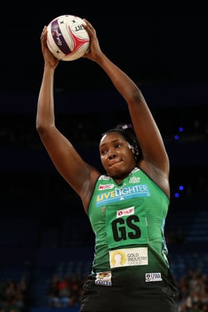 Jhaniele Fowler of the Fever