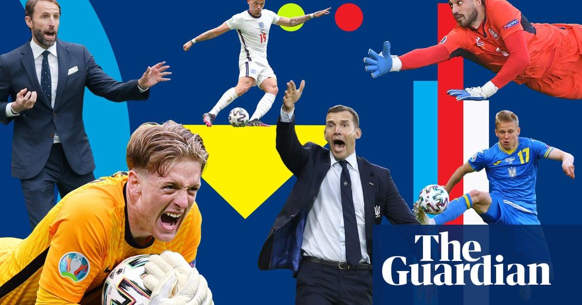 England v Ukraine: where the Euro 2020 quarter-final will be won